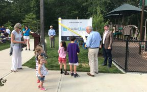 New playground opens at Good Ground Park