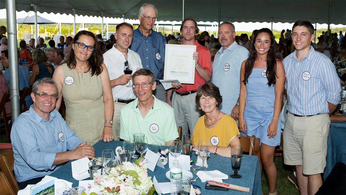 Farm families honored by Peconic Land Trust