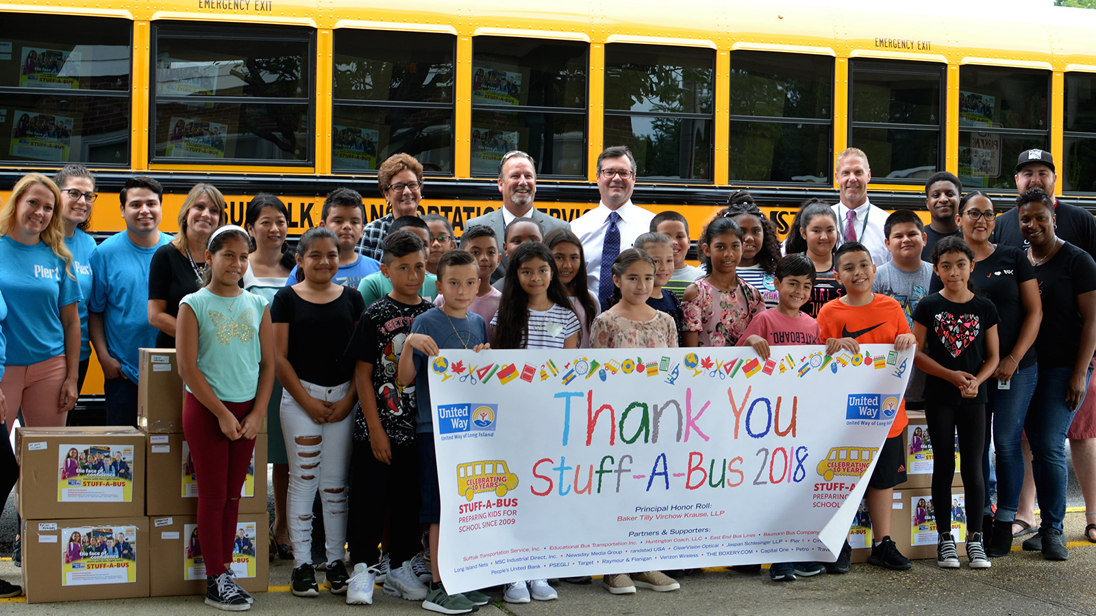 Stuff-A-Bus program breaks record in 10th year