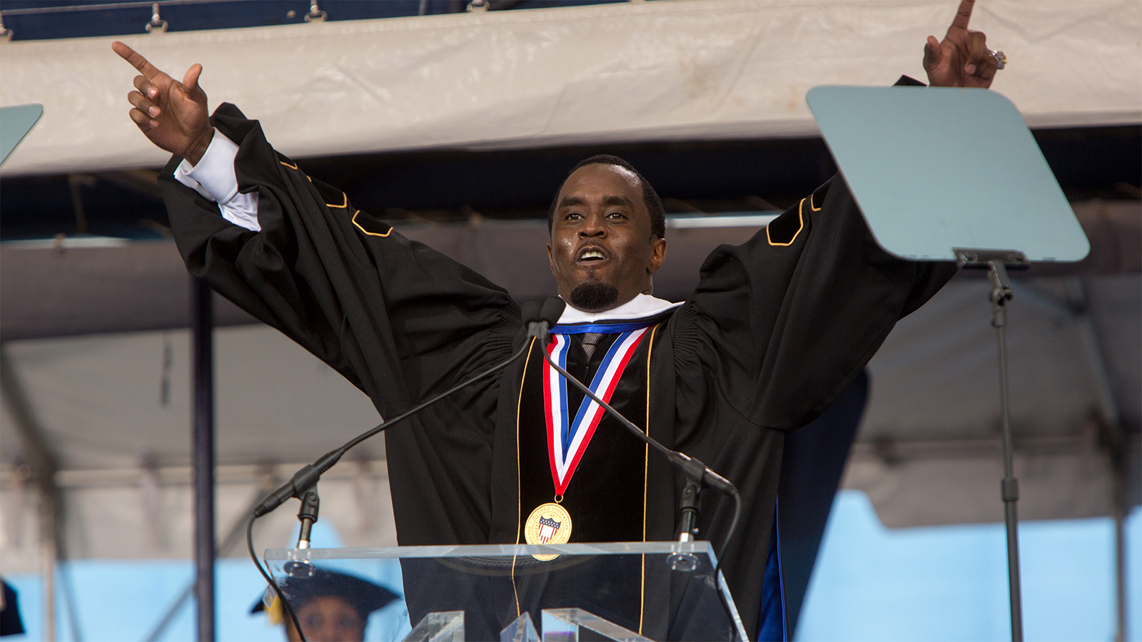 Diddy pledges $1 million for Bronx charter school