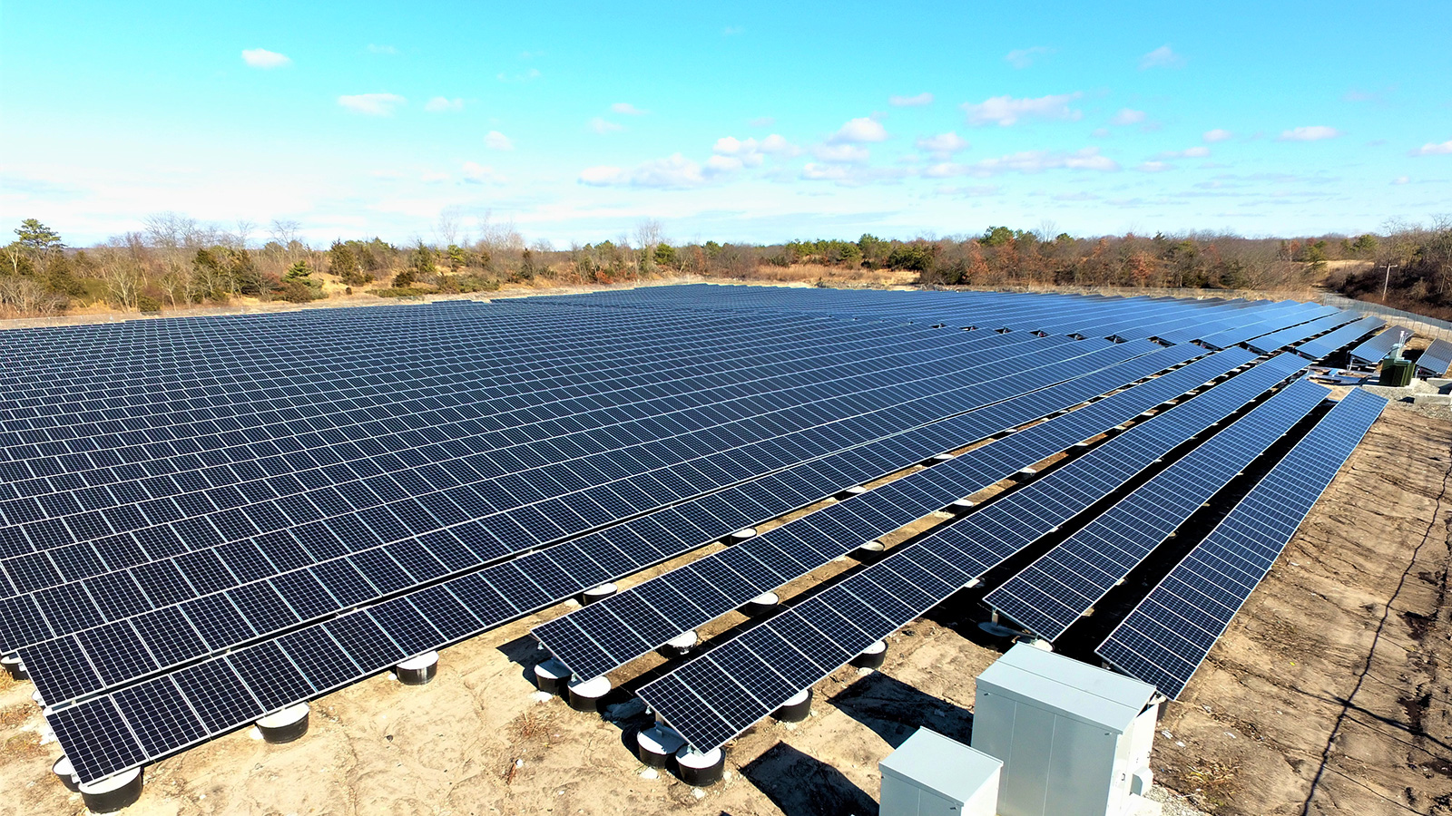 New solar farms go live on former Islip landfills