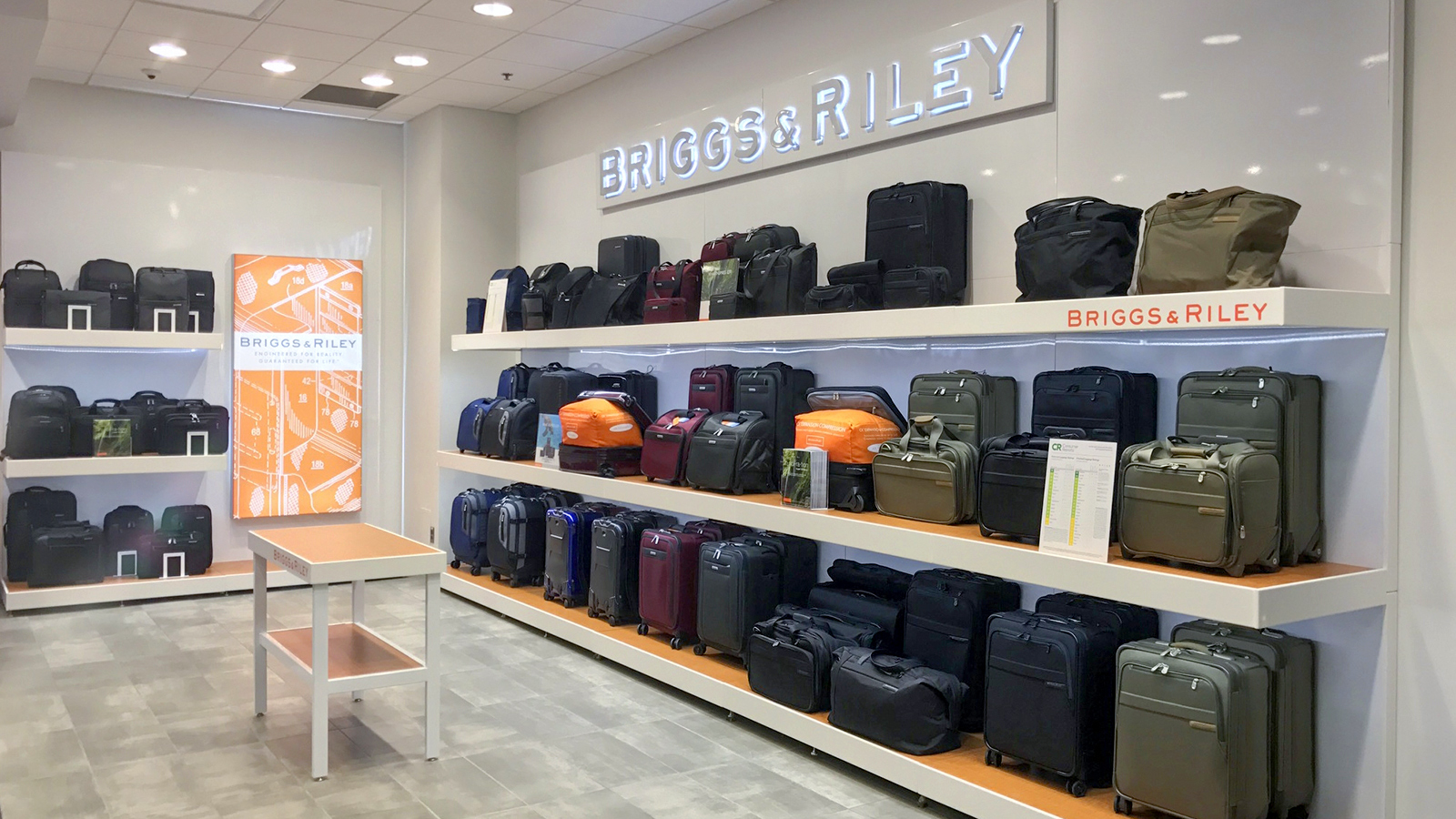 Hauppauge luggage brand makes a case for giving
