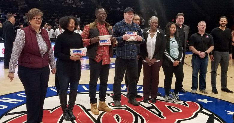 United Way scores $3,300 at Long Island Nets game