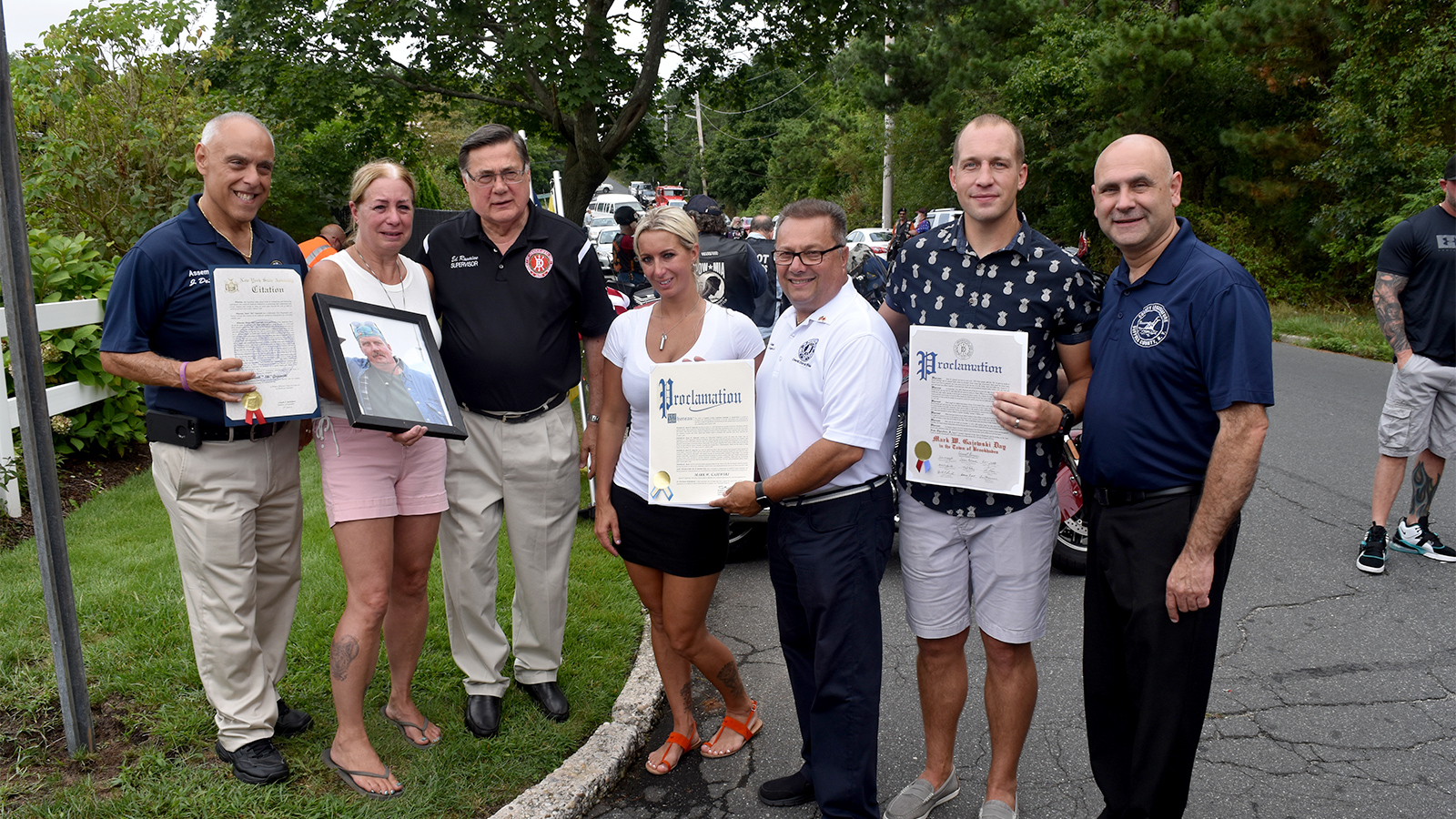 East Patchogue street named in honor of 9/11 first responder