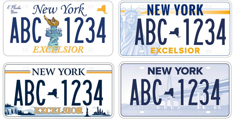 New Yorkers can vote on new state license plate