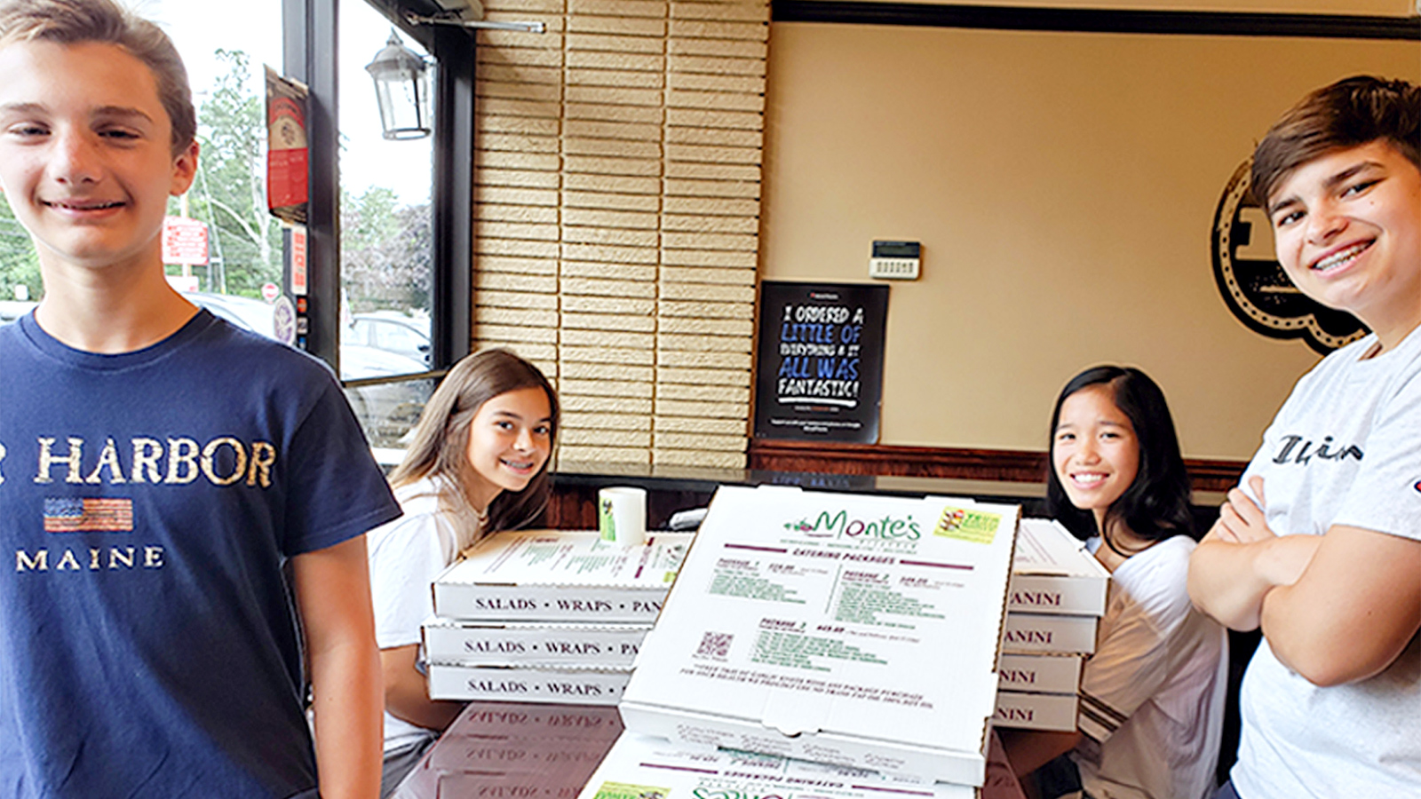 Smithtown students work with restaurants for annual box top campaign