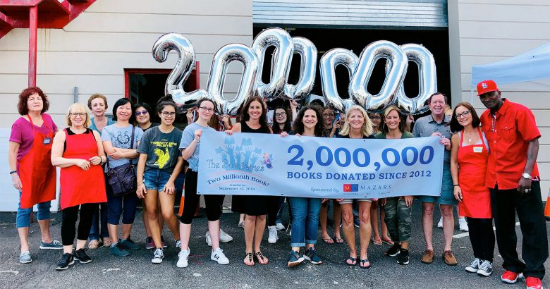 Long Island nonprofit books novel milestone
