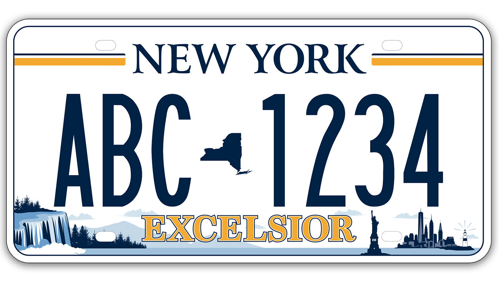 Winning license plate features iconic Long Island landmark