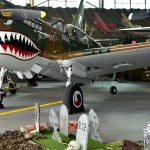 Haunted hangar hosting Halloween party