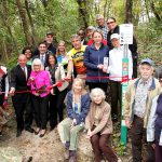 New trails open at Hempstead Harbor Woods