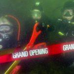 Southampton makes splash with underwater ribbon-cutting