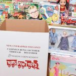 Marines land in Baldwin for Toys for Tots kickoff