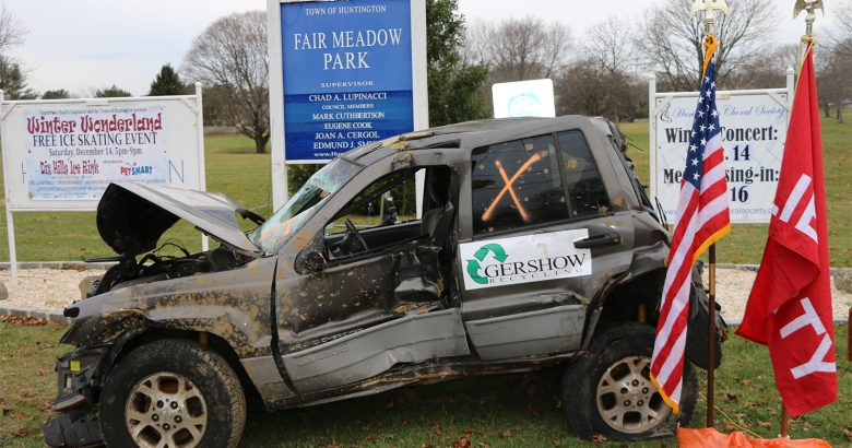 Recycling company contributes to campaign against drunk driving