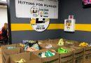 Long Island Sports Zone donates a ton of food