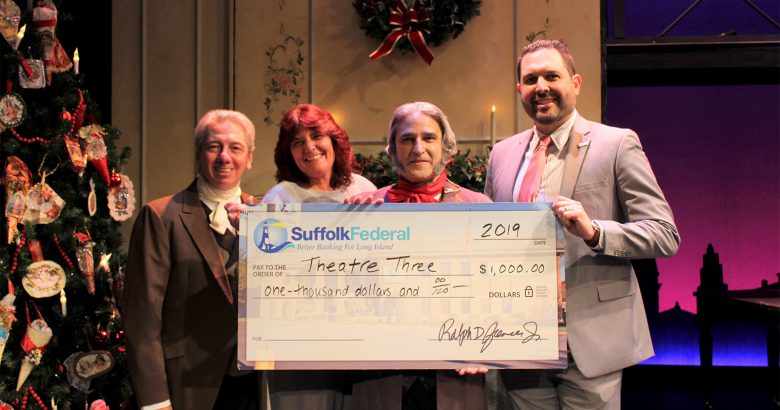 Theatre Three gets boost from Suffolk Federal