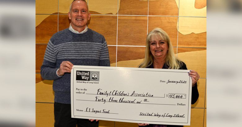 United Way makes an impact with grant to FCA