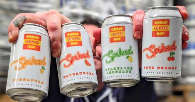 Bay Shore brewery launches line of hard seltzer