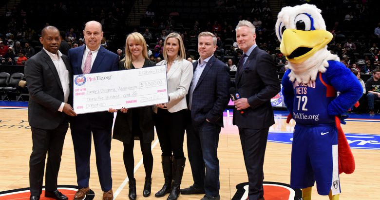 Pink Tie teams with Long Island Nets in donation drive