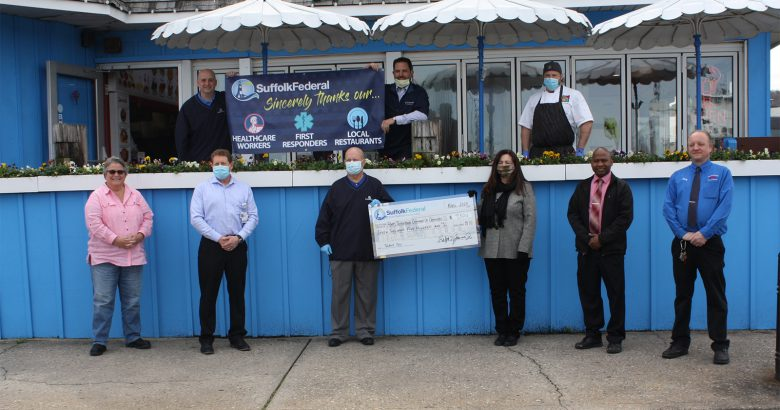 Suffolk Federal donation feeds Port Jefferson healthcare heroes