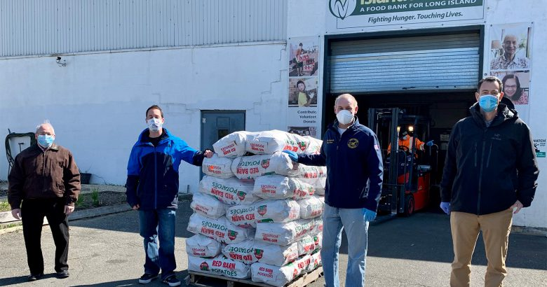 Spud stud: Grower donates 30K pounds of potatoes