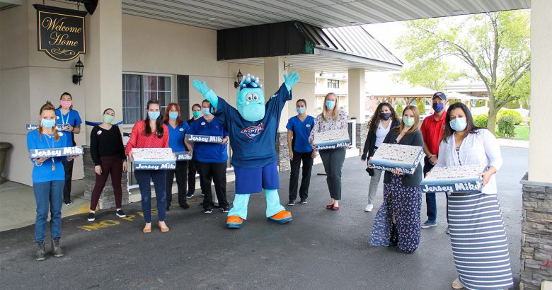Riptide and Jersey Mike's providing lunch for nursing home staff
