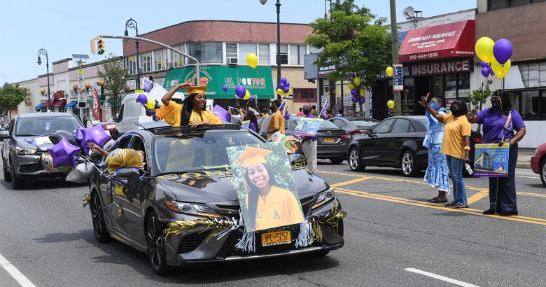 Academy Charter School holds graduation caravan