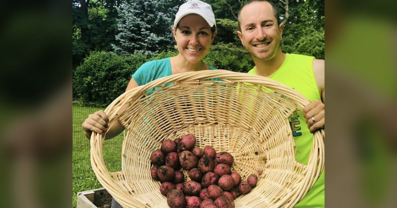 Garden bounty feeds healthcare heroes