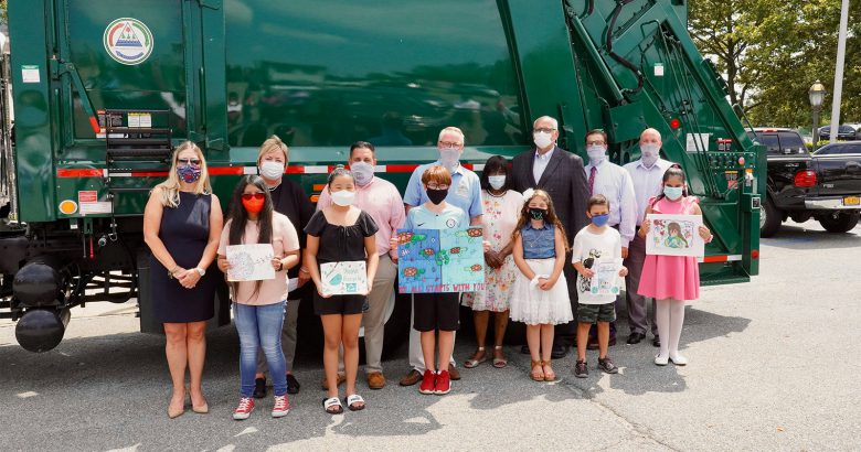 Students turn trash to treasure in recycling poster contest