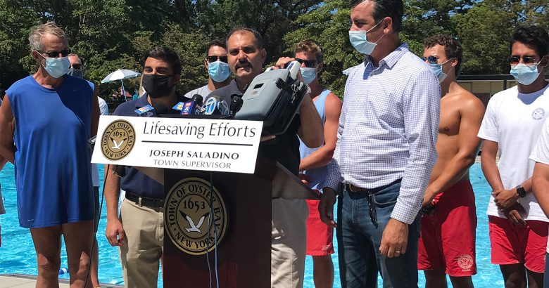 Lifeguards honored for saving Syosset man's life