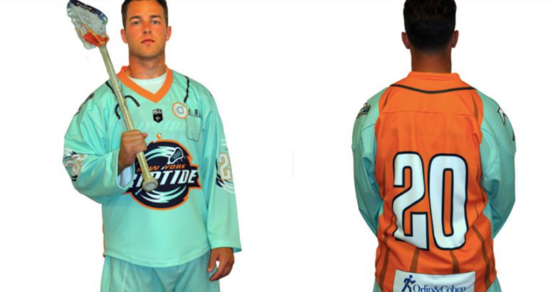 "New York Riptide unveil ""Healthcare Heroes Jersey"""