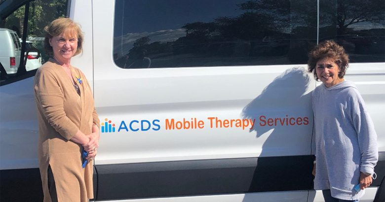 ACDS hits the road with new mobile therapy vehicle