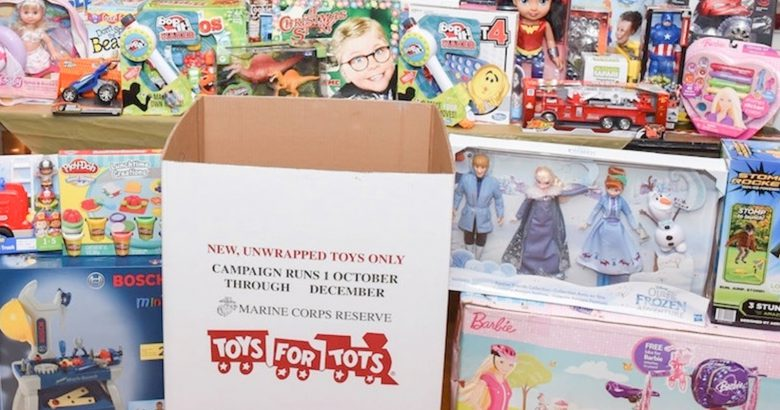 Long Island Applebee's fuel Toys for Tots drive
