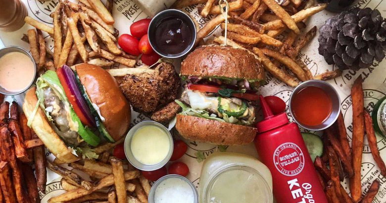 Burger Village opens at Republic Plaza