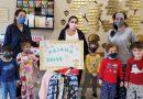 Preschoolers team up for pajama drive