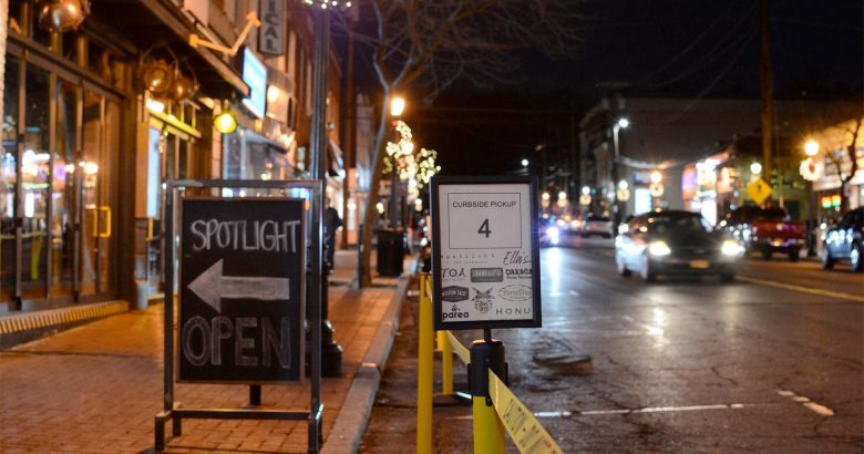 New curbside pickup station opens in Huntington Village
