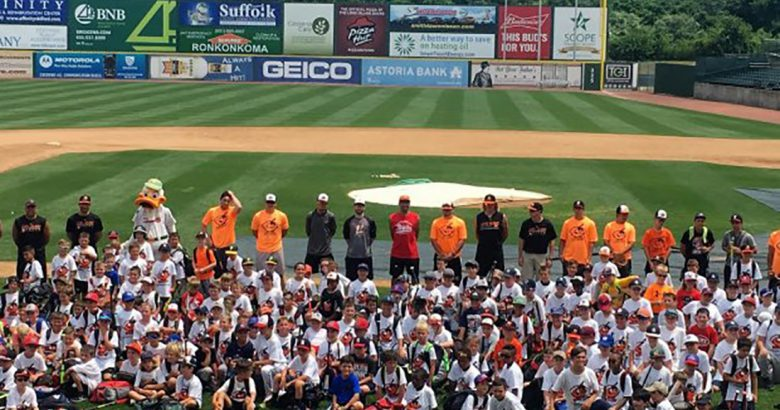 Ducks to hold youth baseball camps this summer