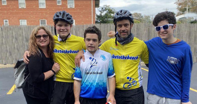 High school senior raises $9K in 100-mile bike ride