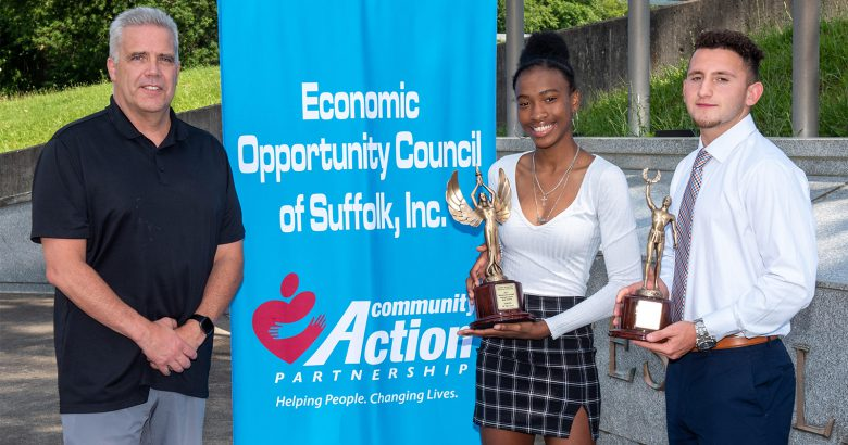 Two high school students win 2021 Dellecave Award