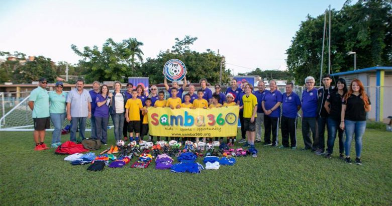 Syosset student donates gear to sports nonprofit