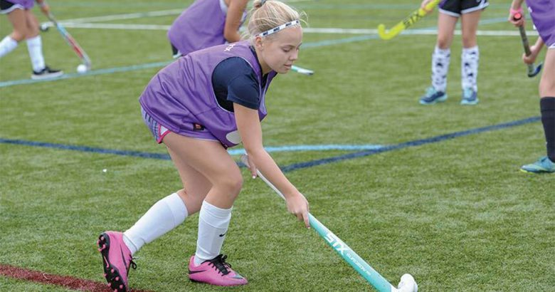 Town launches first-ever field hockey camp