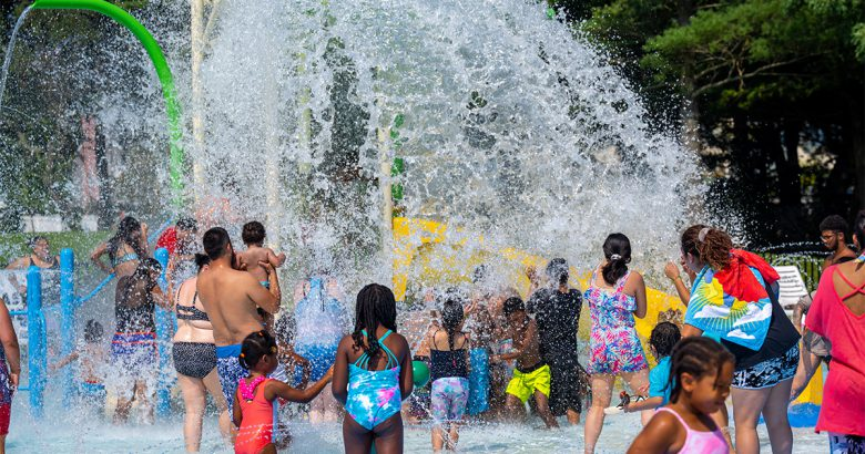 New spray park opens in Brentwood
