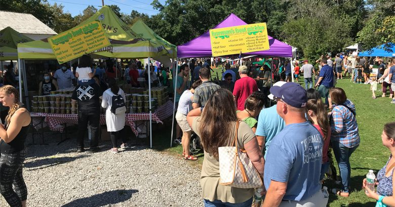 Hundreds turn out for Greenlawn Pickle Festival